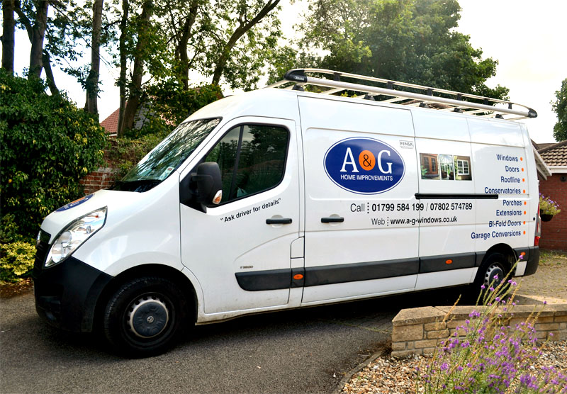 A & G Windows Contact Page