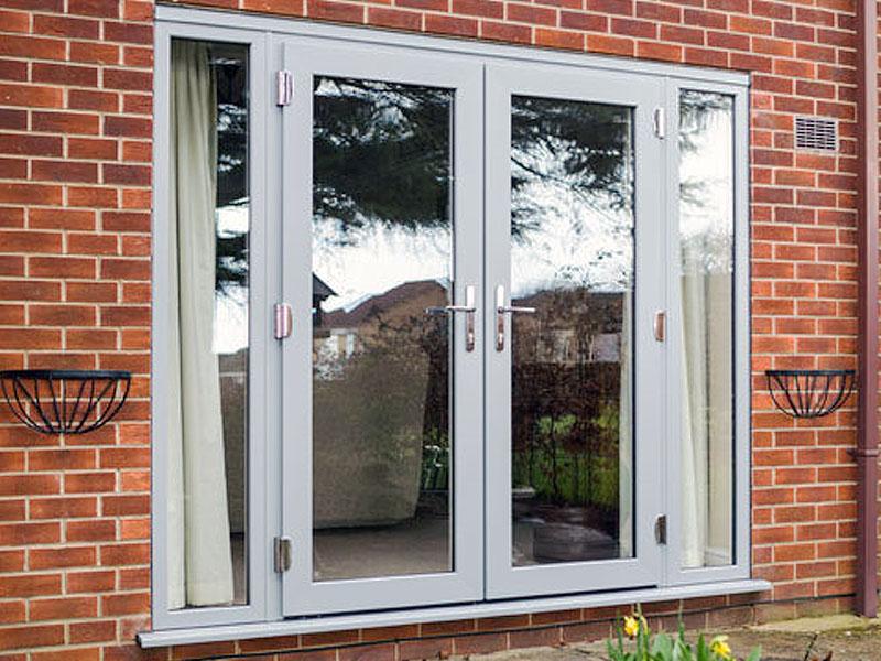 Patio doors a g windows conservatories for Reclaimed upvc doors